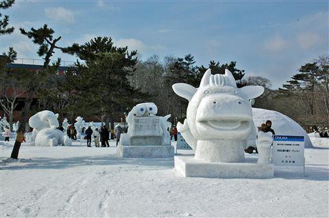 函館大沼雪と氷の祭典  2