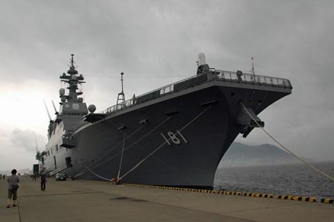 ヘリコプター搭載護衛艦 ひゅうが 函館寄港  10