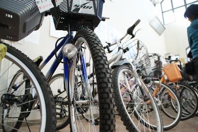 再生自転車・家具類の抽選販売