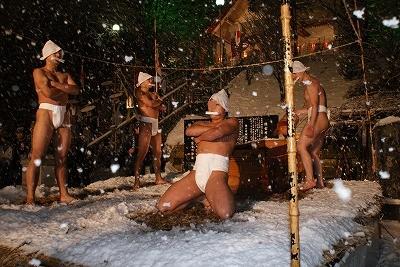 佐女川神社 寒中みそぎ祭り